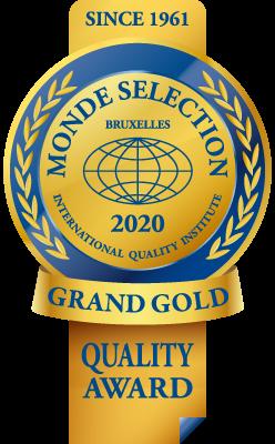 MONDE SELECTION GRAND GOLD QUALITY AWARD 2020モンドセレクション最高金賞受賞